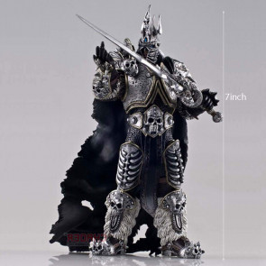 World of Warcraft Heroes of The Storm Series Lich King Arthas Action Figure 7inch