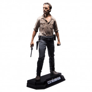 """McFarlane Toys The Walking Dead TV Rick Grimes 7"""" Collectible Action Figure"""