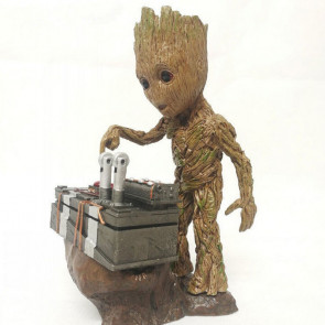 """6"""" Groot Guardians of the Galaxy Vol. 2 Push Bomb Button Figure"""