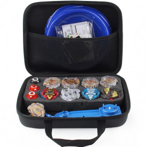 Beyblade Carrying Case With Mini Stadium, Launcher, 9 Beyblades