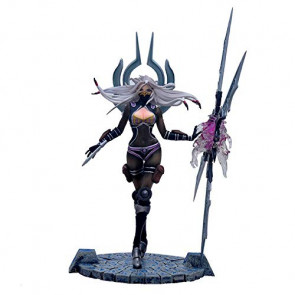 Game Irelia PVC Action Figure with Base The Will of The Blades 25cm Toys